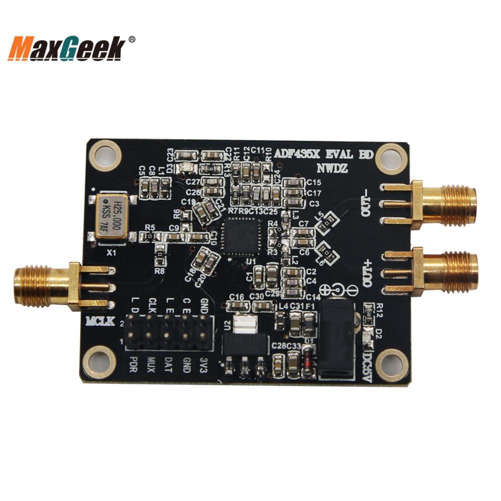 Maxgeek 35 M-4,4 GHz PLL RF преобразователь частоты источника сигнала ADF4351 плата разработки