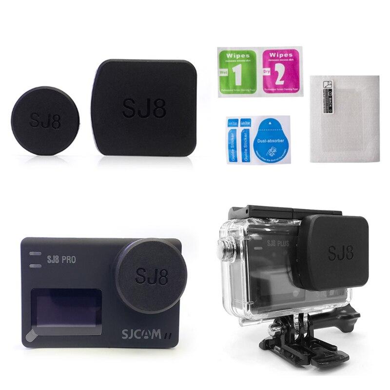 Для SJ8 Pro/Plus/Air камера Крышка объектива водонепроницаемый корпус капот супер HD экран защитная пленка держатель рамки для SJCAM SJ8 аксессуары