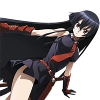 cute 3d car sticker sexy gothic girl akame ga kill akame decal motorcycle car styling graphics sticker decor decal