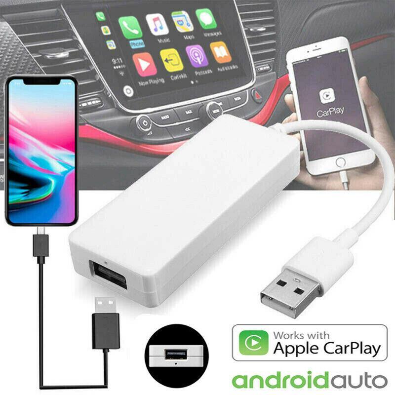Carlinkit USB Smart Car Link Dongle для Android Auto/iPhone Carplay Mode HD 1080P дисплей/функция отправки сообщений
