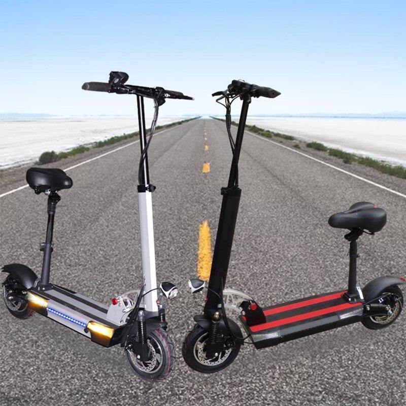 48v 26A 電動スクーターリチウム電池 48v 800 ワット最大 144 キロ以上折りたたみ電動自転車シート電動スケートボード