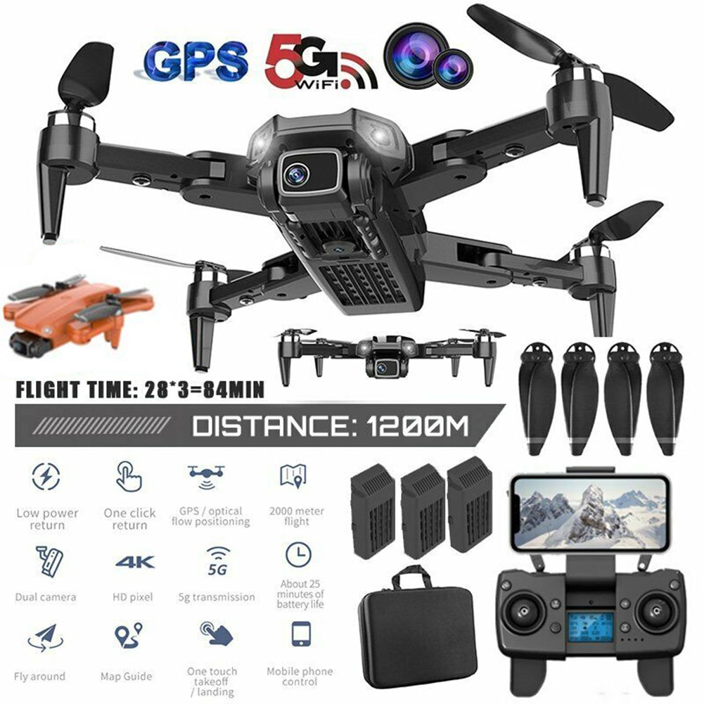 Drone L900 Pro 5G GPS 4K Dron with HD Camera FPV 28min Flight Time Brushless Motor Quadcopter Distance 1.2km Professional Drones