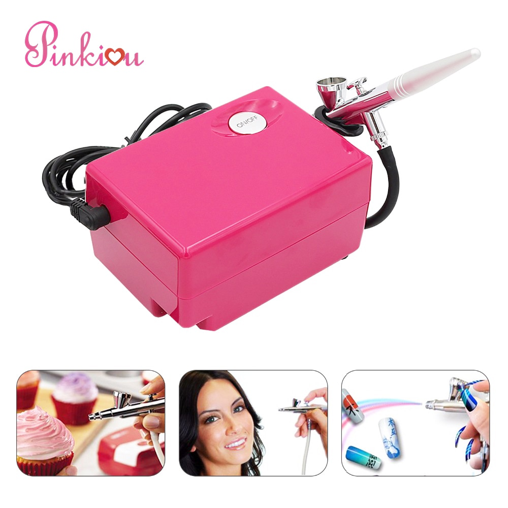 airbrush 0 4mm compressor airbrush for nail needle art kit set for body paint makeup craft toy models airbrush makeup system set Air Brush Compressor Airbrush 0.4mm Needle Art Kit Set for Body Paint Makeup Craft Toy Models airbrush cake Temporary Tattoo