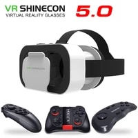 vr shinecon 5 0 glasses virtual reality vr box 3d glasses for 4 7 6 0 inch phone