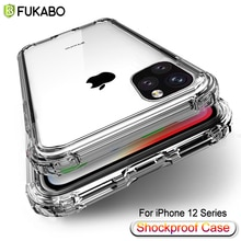 Luxury Ultra thin Shockproof Case For iPhone 12 11 Pro Max XS XR X 12 Mini 8 7 6 6S Plus 5 5S SE Cle