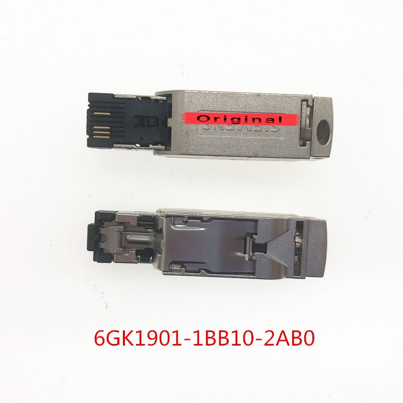 6GK1901-1BB10-2AB0 10 قطعة 6GK1901-1BB10-2AA0 RJ45 التوصيل 180 graus conector profinet 6GK1 901-1BB10-2AB0 OEM 2 anos دي garantia