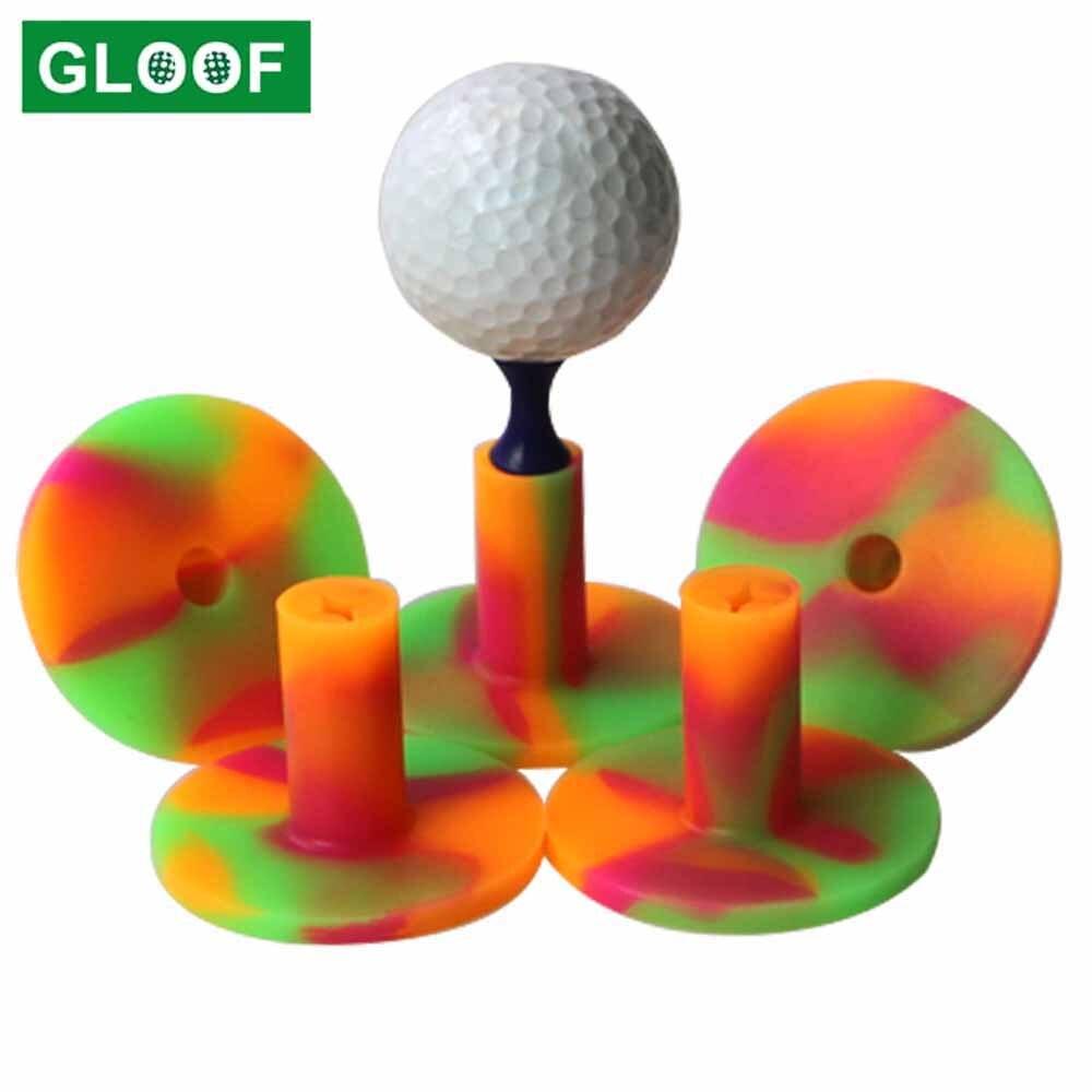 1 шт. резиновые футболки для гольфа, спортивные футболки, держатель, прочный коврик для гольфа, тренировочные аксессуары