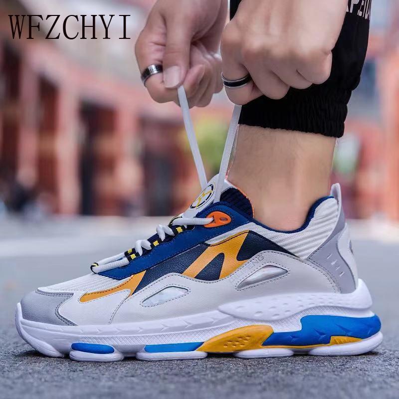 New outdoor running shoes men casual shoes winter sneakers men Jogging sneakers walking sports shoes  men Zapatillas Hombre Flat