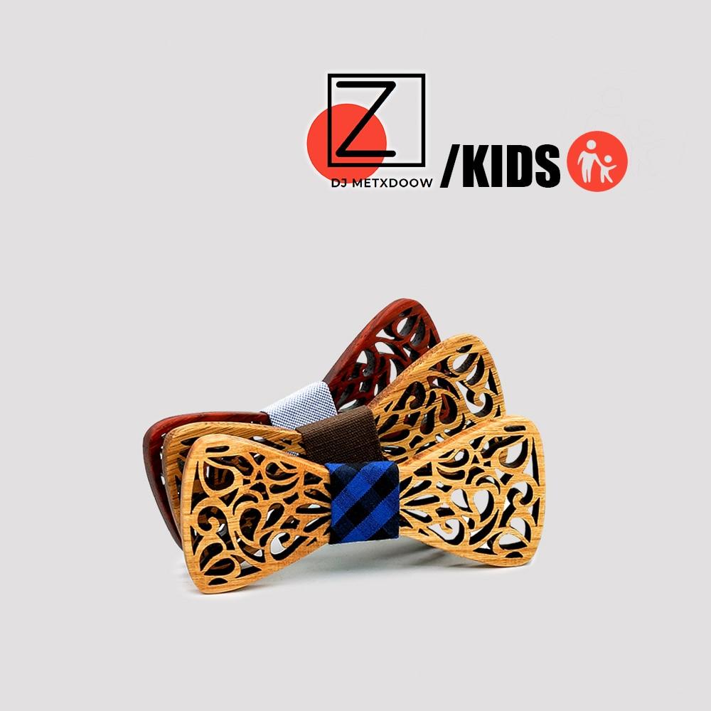 Новое поступление, модные аксессуары для одежды, галстуки, деревянные галстуки-бабочки для мальчиков, детские галстуки-бабочки, деревянный ...