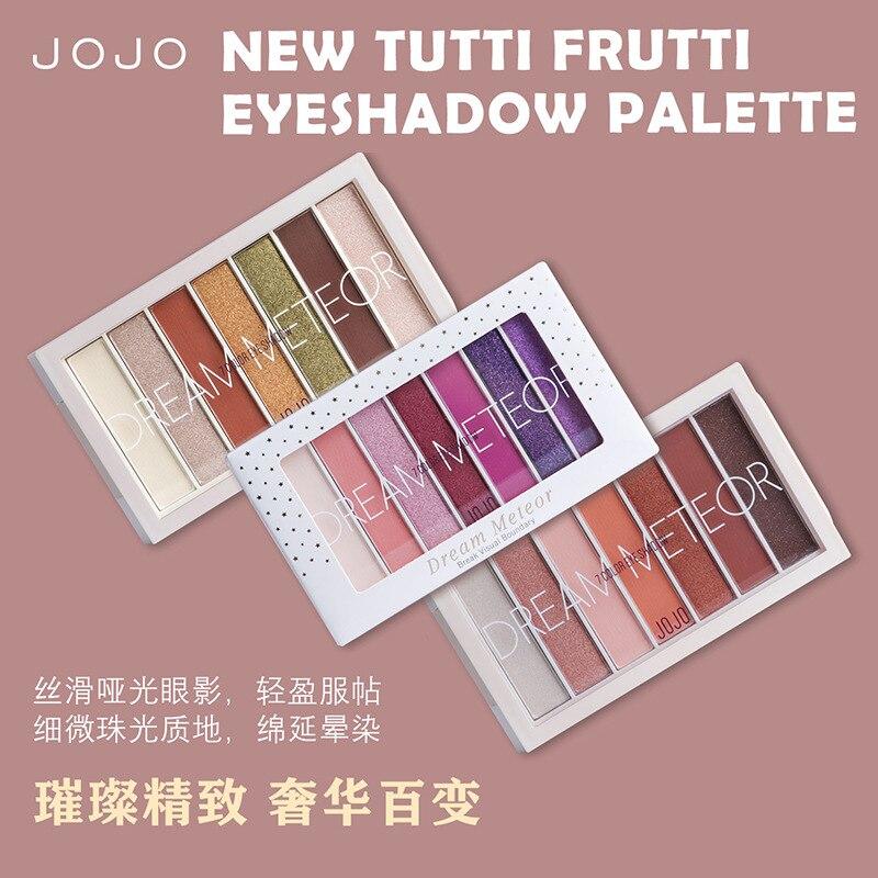 Sombra de ojos de Color fruta dulce, brillo perlado compacto, mate, resistente...
