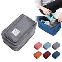Удобная дорожная сумка для хранения нейлоновая 6 видов цветов Портативная сумка-Органайзер многофункциональная сумка для сортировки обуви