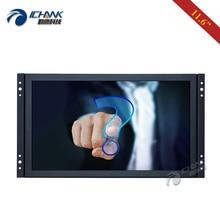 ZK116TC-253D/11.6 12 pouces écran large 1920x1080p HDMI USB intégré cadre ouvert pilote écran tactile capacitif gratuit