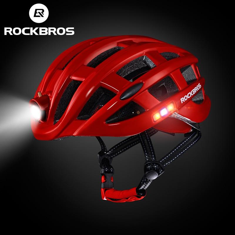 ROCKBROS Light Cycling Helmet Bike Ultralight Helmet Integrally-Molded Mountain Road Bicycle MTB Helmets Safe Men Women 57-62cm