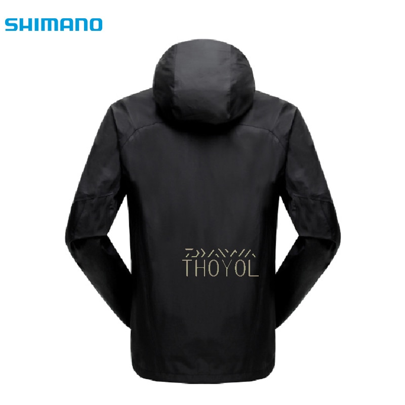 Shimano Fishing Jackets Waterproof Man Winter Fishing Clothes Outdoor Hooded Thicken Sports Outdoor Windproof Fishing Wear enlarge