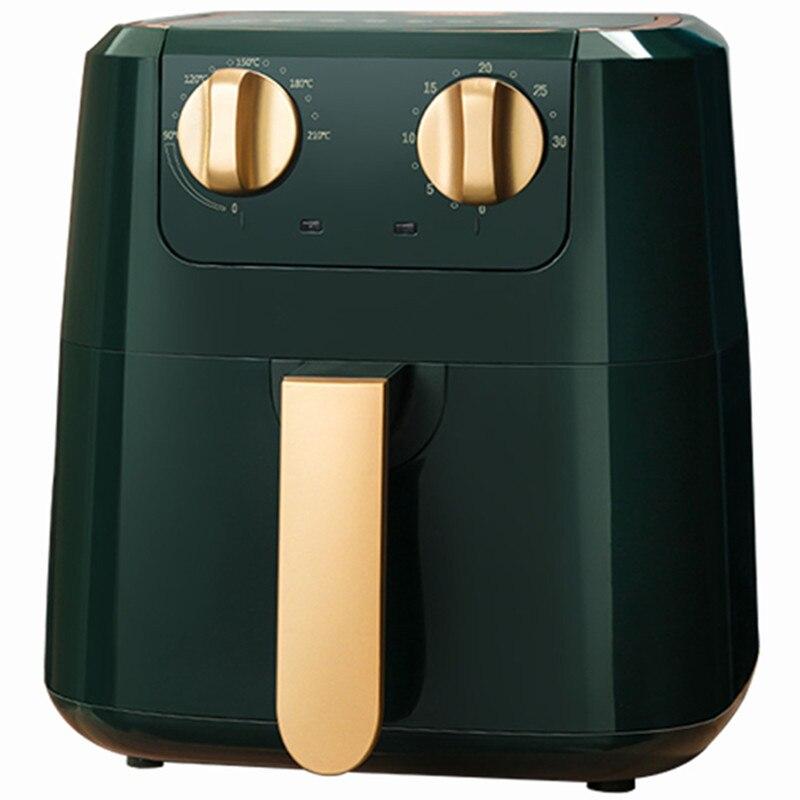 220 فولت 5L الكهربائية الهواء المقلاة التلقائي خالية من الزيت المنزلية الكهربائية الغذاء المقلاة المقلية وعاء القلي متعددة المقلاة