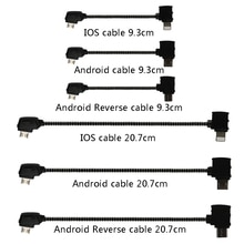 Data Cable OTG Remote Controller to Phone Tablet Connector Micro USB TypeC IOS Extend for DJI Mavic
