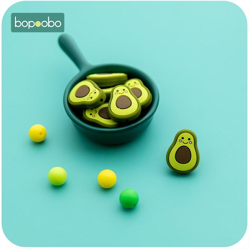 Bopoobo без добавления бисфенола А 20 ПК силиконовый Прорезыватель для зубов DIY ремесел силиконовые бусины для ожерелий силиконовый Прорезыват...