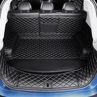 3d full covered waterproof boot carpets durable custom special car trunk mats for cadillac ats ct6 cts srx xts sls xt5