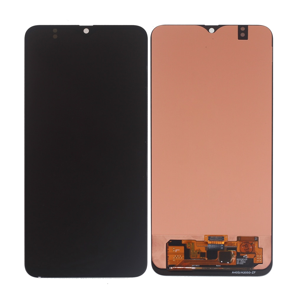 AMOLED Lcd Screen For Samsung Galaxy A40s Touch Screen LCD Display Digitizer Assembly Phone A407 A3050 A3058 Parts Repair enlarge
