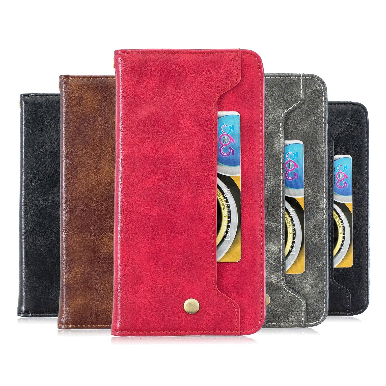 Funda de cuero con tapa con soporte funda para Huawei P9 Lite Mini P9 Lite Mini teléfono Coque P9 Lite Mini SLA-L22 cartera funda de silicona