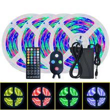 5/10m rgb música led luz de tira impermeável app controle remoto lâmpada decorativa led luz de tira tem função de sincronização de música. Anéis