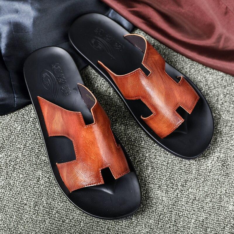 Sandalias de verano para hombre 39 s, Zapatillas para hombre, chanclas para hotel, moda informal de alta calidad, sandalias de playa para hombre, Zapatillas para hombre 2020