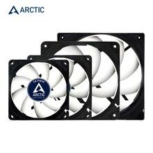 ARCTIC F9PWM F12PWM F14 PWM 및 PST 9cm 12cm 14cm 4pin 200-2000 RPM 컴퓨터 냉각 팬 조용한 cpu 전원 냉각기 섀시 케이스 팬