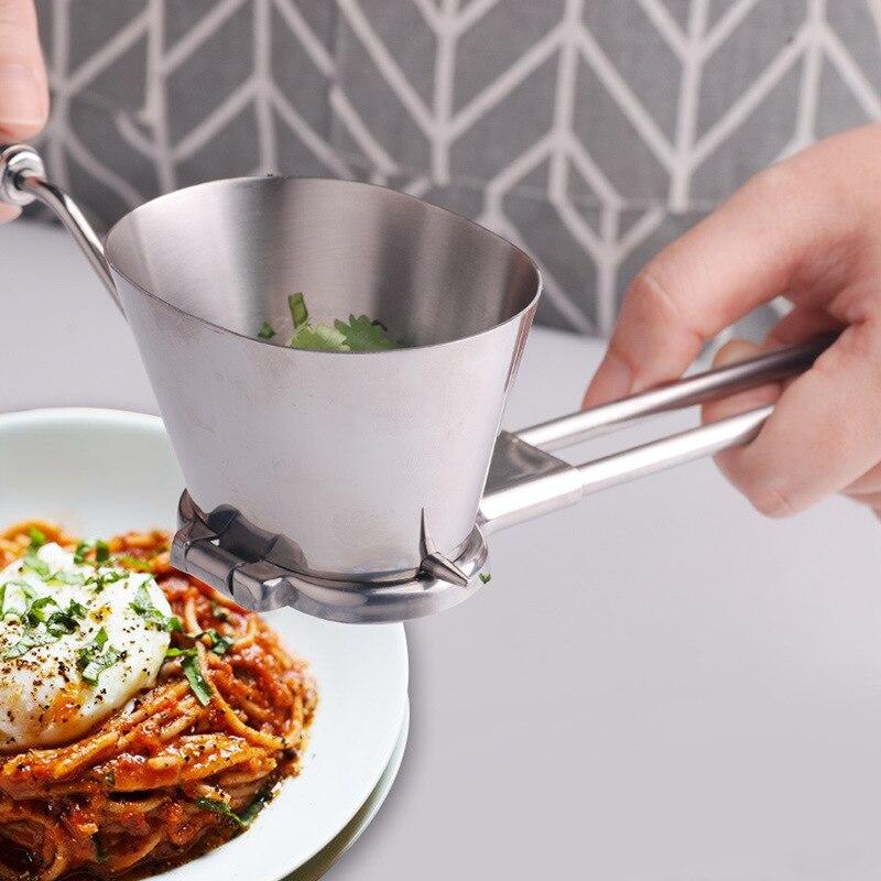 Utensilios de cocina multifuncionales de acero inoxidable, Cortador manual de verduras de perejil, picador de condimentos de vainilla