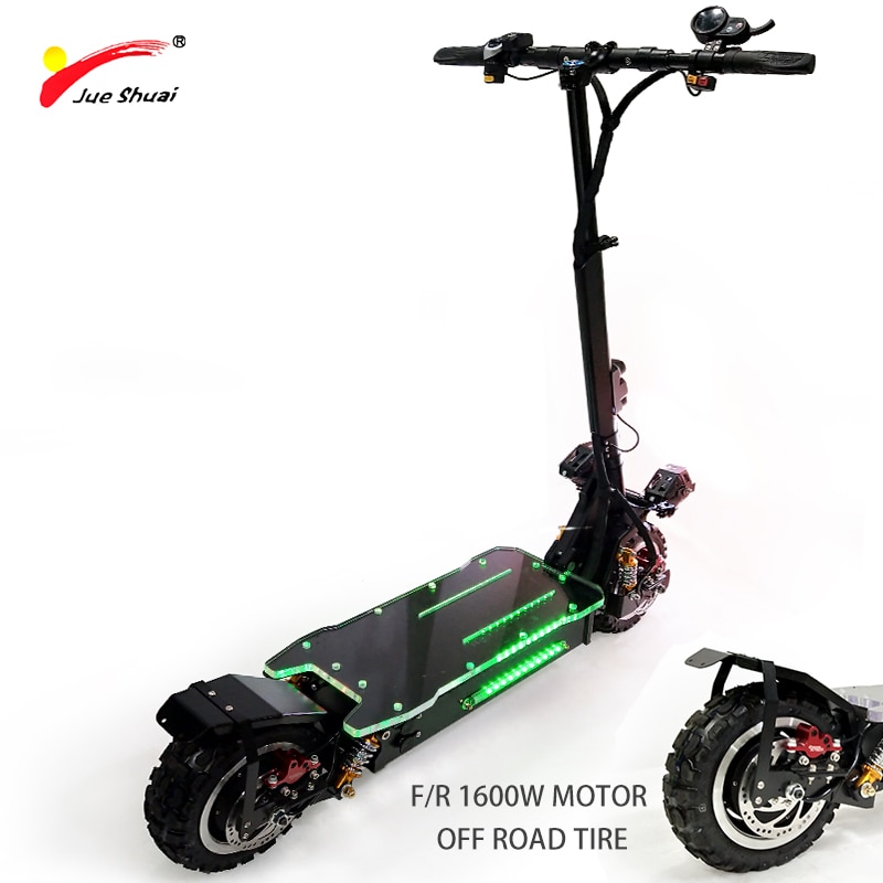 Patinete eléctrico de alta velocidad para Adulto, Scooter de 80 KM/H, 60V3200W,...