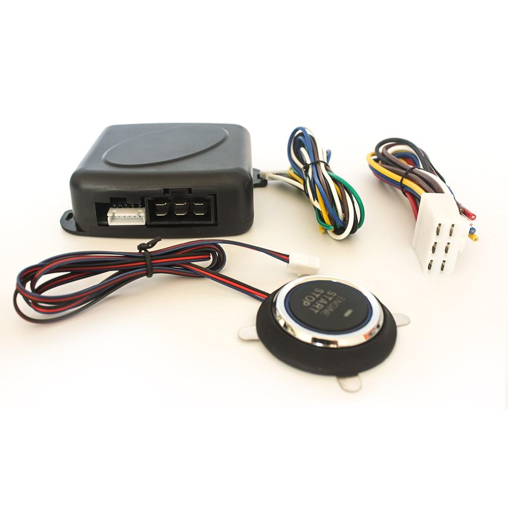 Car one button start / Universal anti-theft one key ignition start / one key start refitting system