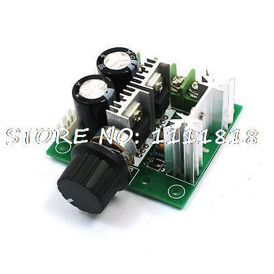 12-40V 10A PWM ajustable Control de mando de controlador de velocidad del Motor de CC