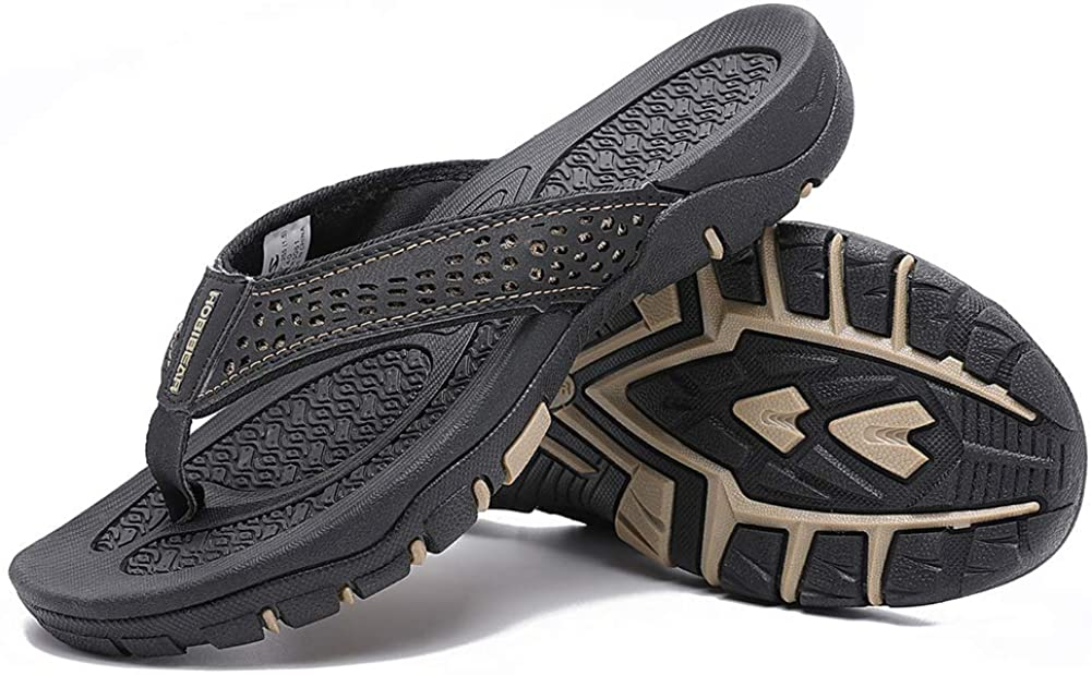 Chanclas para hombre, sandalias de playa deportivas para exteriores con soporte de arco, cómodas sandalias de Tanga informales ligeras para interiores