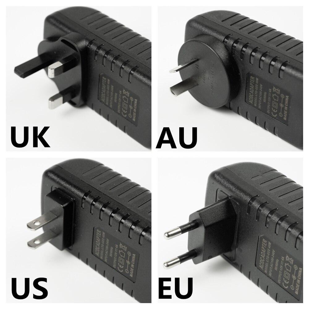 12v 12v Adaptador De corriente AC 110v 220v De la fuente De...