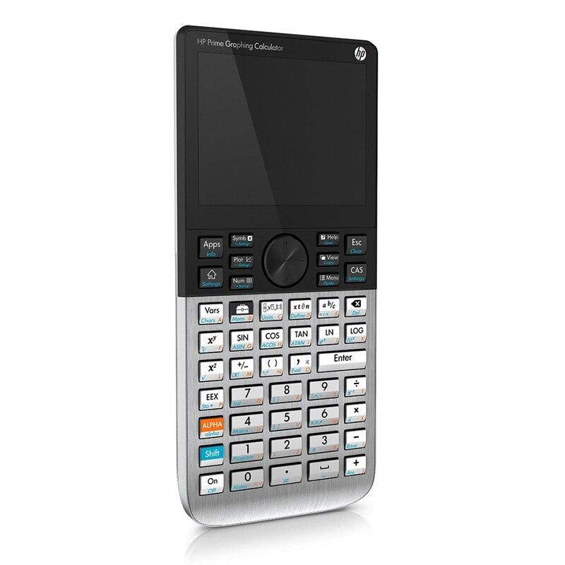 Hp Prime شاشة 3.5 بوصة تعمل باللمس آلة حاسبة الرسومات Sat / AP / IB امتحان الطالب آلة حاسبة امدادات الطاقة الإلكترونية الرقمية