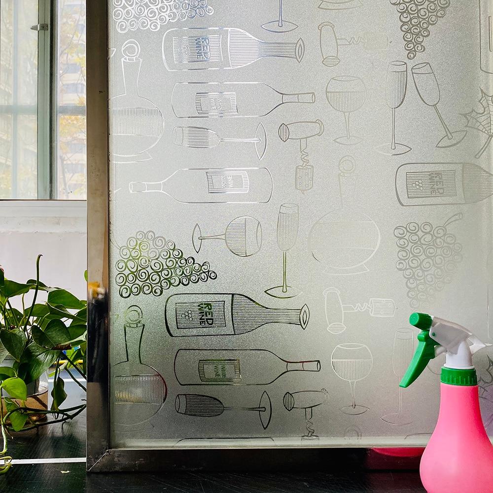 3d матовое самоклеющаяся пленка на окна, винил термопленка плёнка для окон,декоративная теплоизоляция витражная пленка,статическая блэкаут...