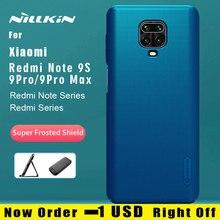Nillkin Xiaomi Redmi için not 9S 7 8 9 Pro Max 8T Redmi 9 7A 8A 8 7 k20 Pro K30 kılıf buzlu kalkanı PC arka kapak