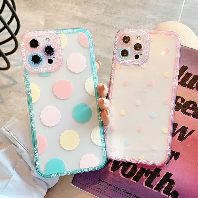 Cute Colorful Phone Case For iPhone 13 Pro Max Cases For iPhone 13 12 11 Pro Max XS Max XR X 7 8 Plu