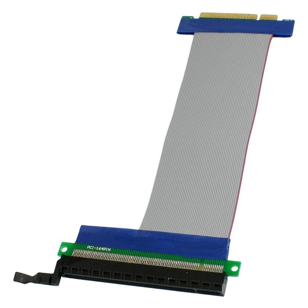 Accessories PCI Slot Video Card Electronic Home PCI-E 8X To 16X High Speed Flexible Portable Stable Extension Cable
