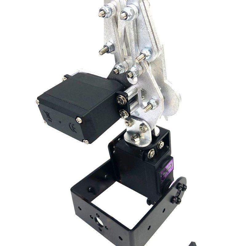 2 DOF, Kit de montaje de garra de brazo de Robot de aluminio para manipulador robótico, garra DIY, juguete de Control remoto 634F