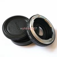 adapter Infinity Focus with glass for Nikon F Lens to Sony Alpha Minolta AF MA DSLR camera