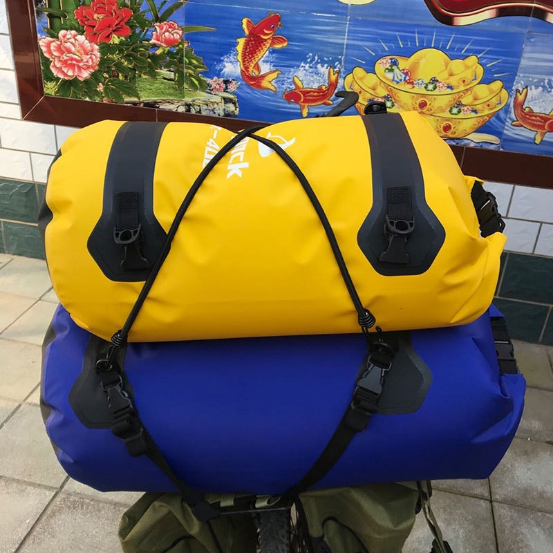 Outdoor Waterproof Bicycle Riding Camel Bag Motorcycle Travel Tail Bag Horizontal Bag Rider Bag Rainstorm-proof Dry Bag
