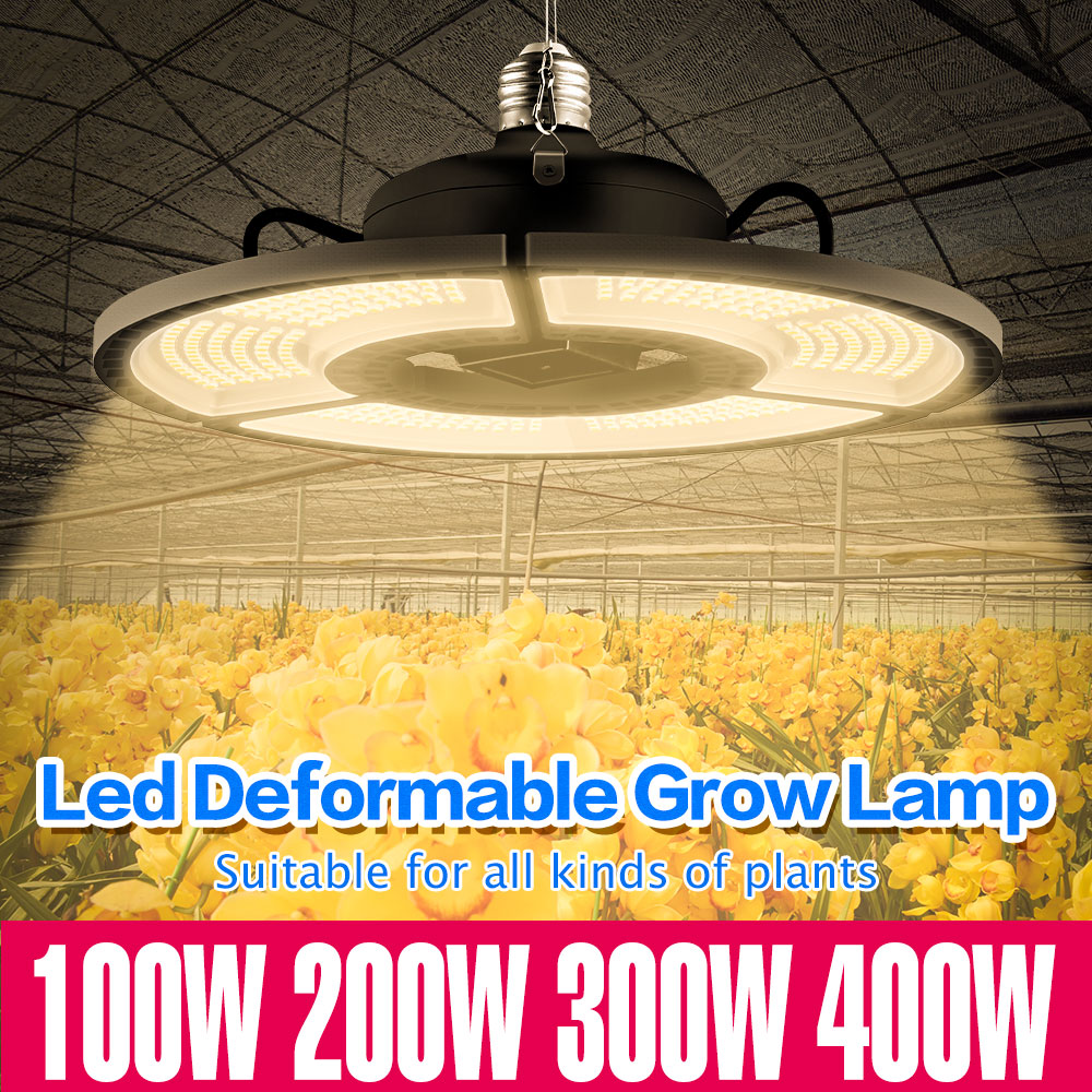 e27 led grow light white 100w 200w 300w 400w led plant light bulb 110v e26 led full spectrum growing lamp 220v greenhouse lamp E27 Grow Light 110V LED Full Spectrum 100W 200W 300W 400W LED Plant Lamp E26 Flower Seed Hydroponic Light 220V Growing LED Bulb