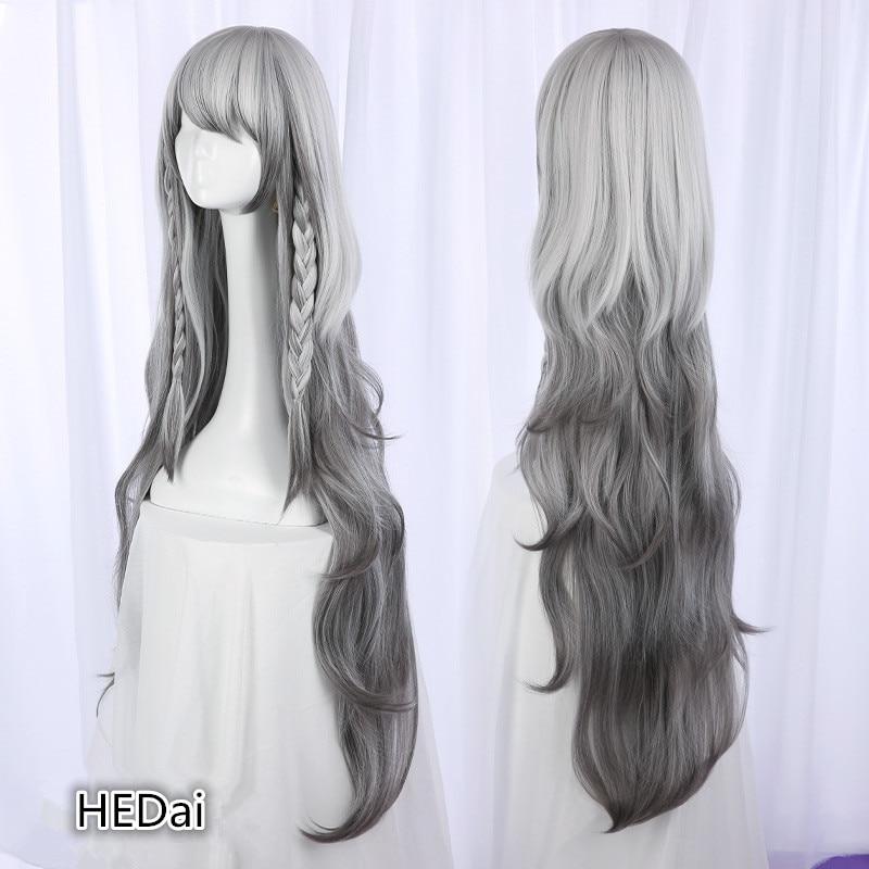 Arknights Pramanix Cosplay Wig Halloween Gift Cos Hair Woman Wigs