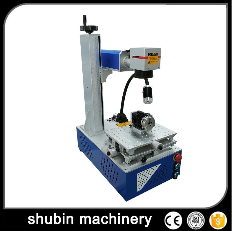 30W Fiber Laser Marking Machine Metal Engraving for All Kinds of 200*200mm