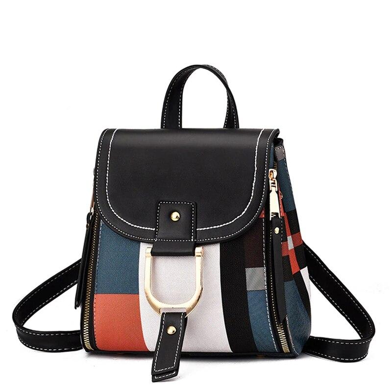 حقيبة يد نسائية ، حقيبة مدرسية للمراهقات ، حقيبة حمل غير رسمية ، حقيبة كتف جلدية