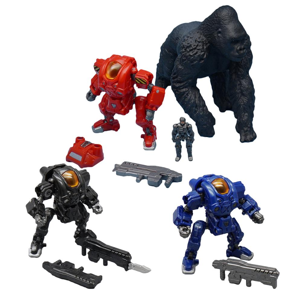 Lensple MFT VS-S03 Verloren Planeten Angetrieben Anzug Soldat Raynor Transformation Roboter Figur