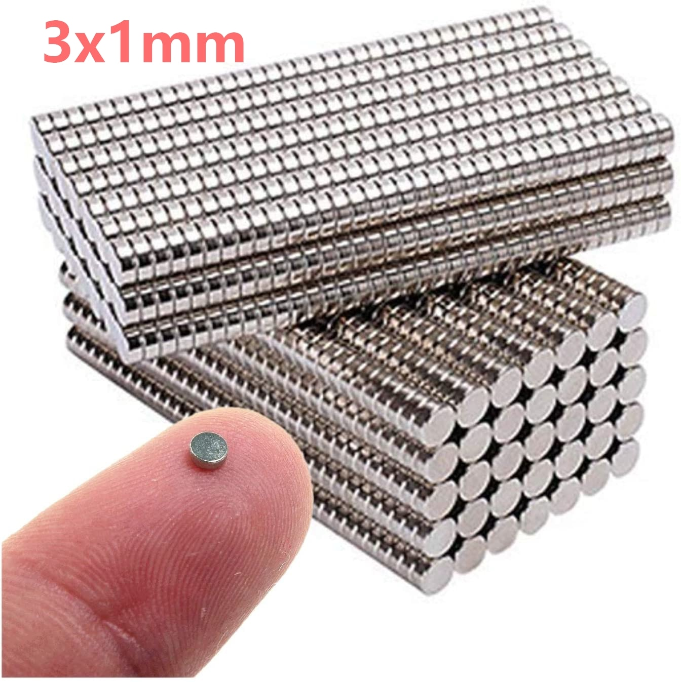 300 шт. 3x1 мм магнит Горячий круглый магнит сильный магнит редкоземельный неодимовый магнит