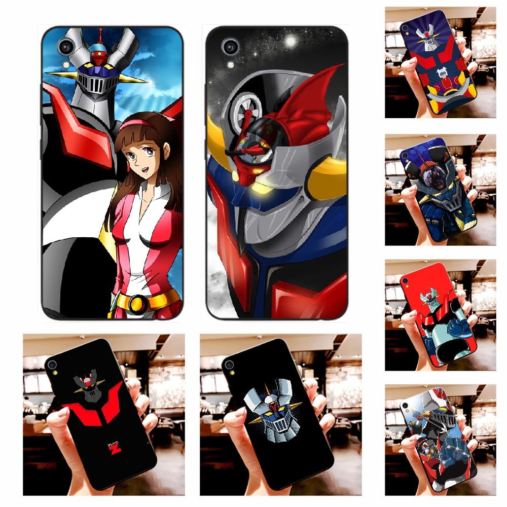 NBDRUICAI Mazinger Z Black TPU Soft Rubber Phone Cover For Vivo Y91c Y17 Y51 Y67 Y55 Y93 Y81S Y19 Y7S Case