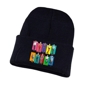Anime Hakata Tonkotsu Ramens Knitted Hat Cosplay Hat Unisex Print Adult Casual Cotton Hat Teenagers Winter Knitted Cap