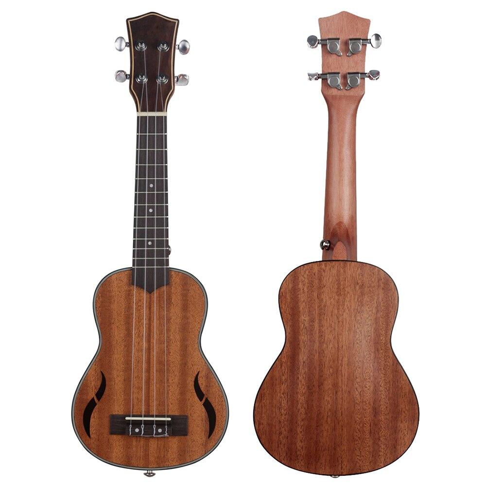 21 Inch Ukulele Mahogany Soprano Ukulele 4 Strings Hawaiian Guitar Mini Guitarra Ukulele Beginner Kids Gift Musical Instruments